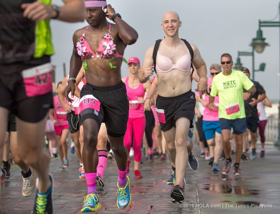 See photos from the Pink Bra Run 2019