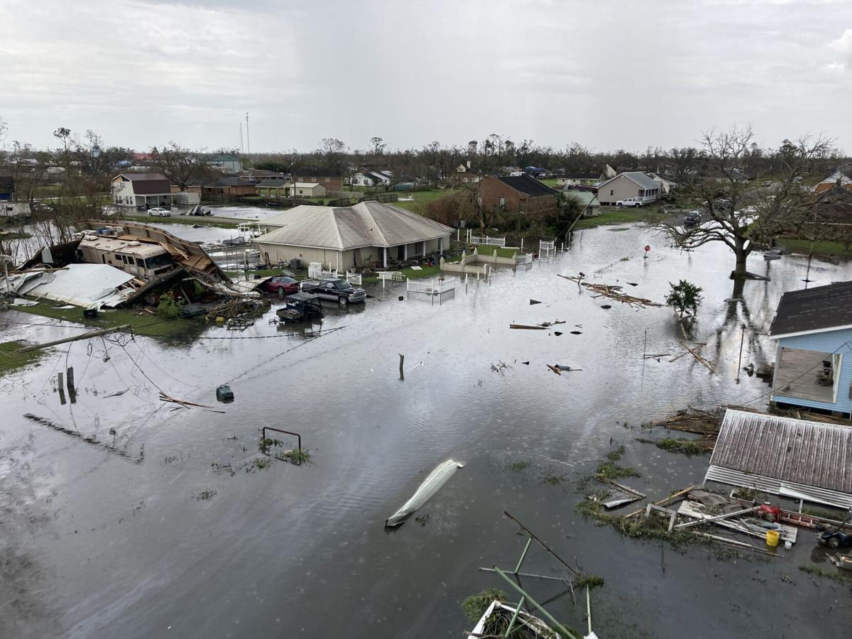 Flooding in Larose