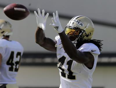 Alvin Kamara: Saints camp Monday (copy)