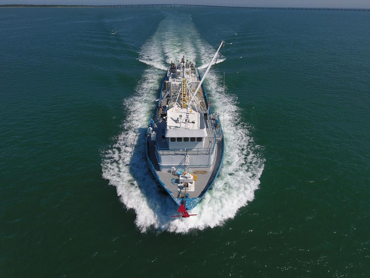 Menhaden boat