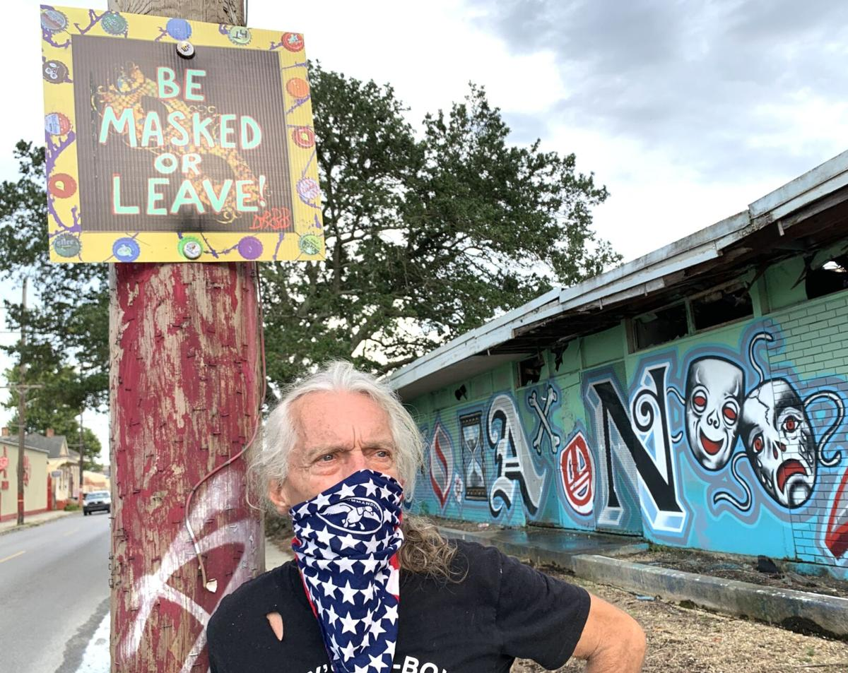 Dr. Bob Shaffer's new signs read 'Be Masked or Leave' 4.jpeg