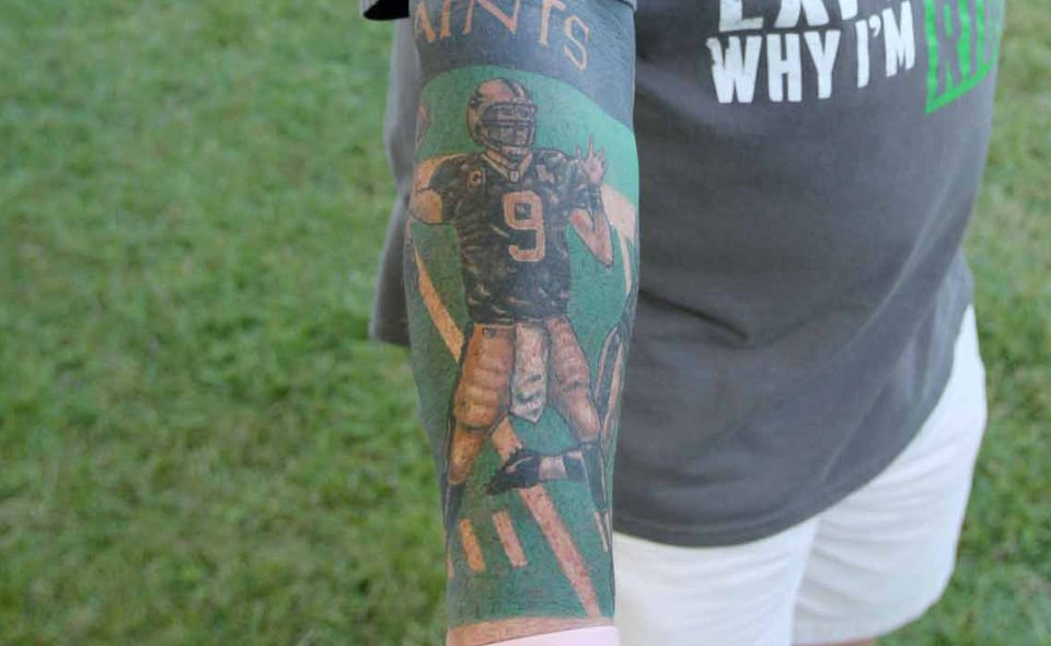 Check Out These 67 Who Dat Tats Then Send Us Your Own Saints Ink Sports Nola Com