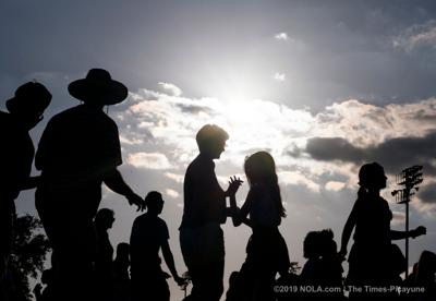 Forecast sunny for Jazz Fest Thursday but rain returns this weekend in New Orleans