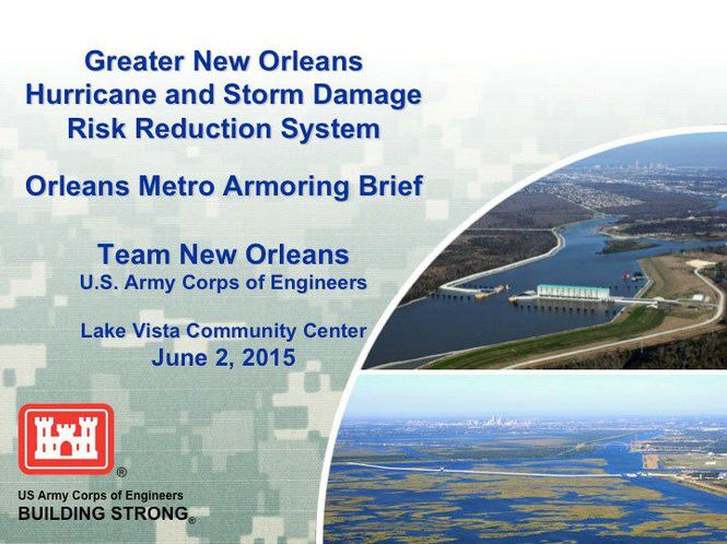 How New Orleans levees are being armored for possible overtopping