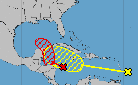 Tropical depression likely to form in or near Gulf of Mexico this weekend