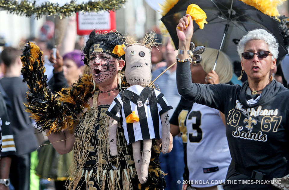 What protest? Who Dats partied and tweeted through a sunny Super Bowl Sunday