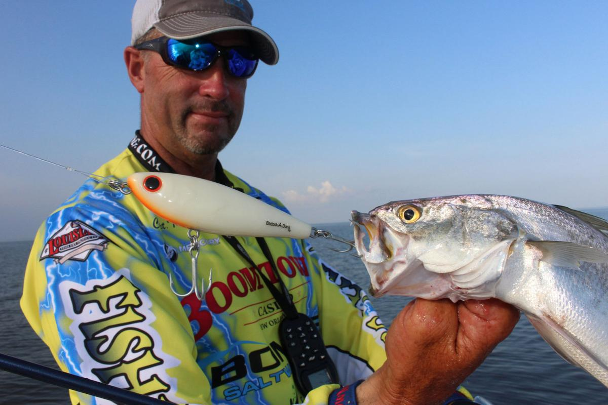No live shrimp needed for Barataria Bay speckled trout