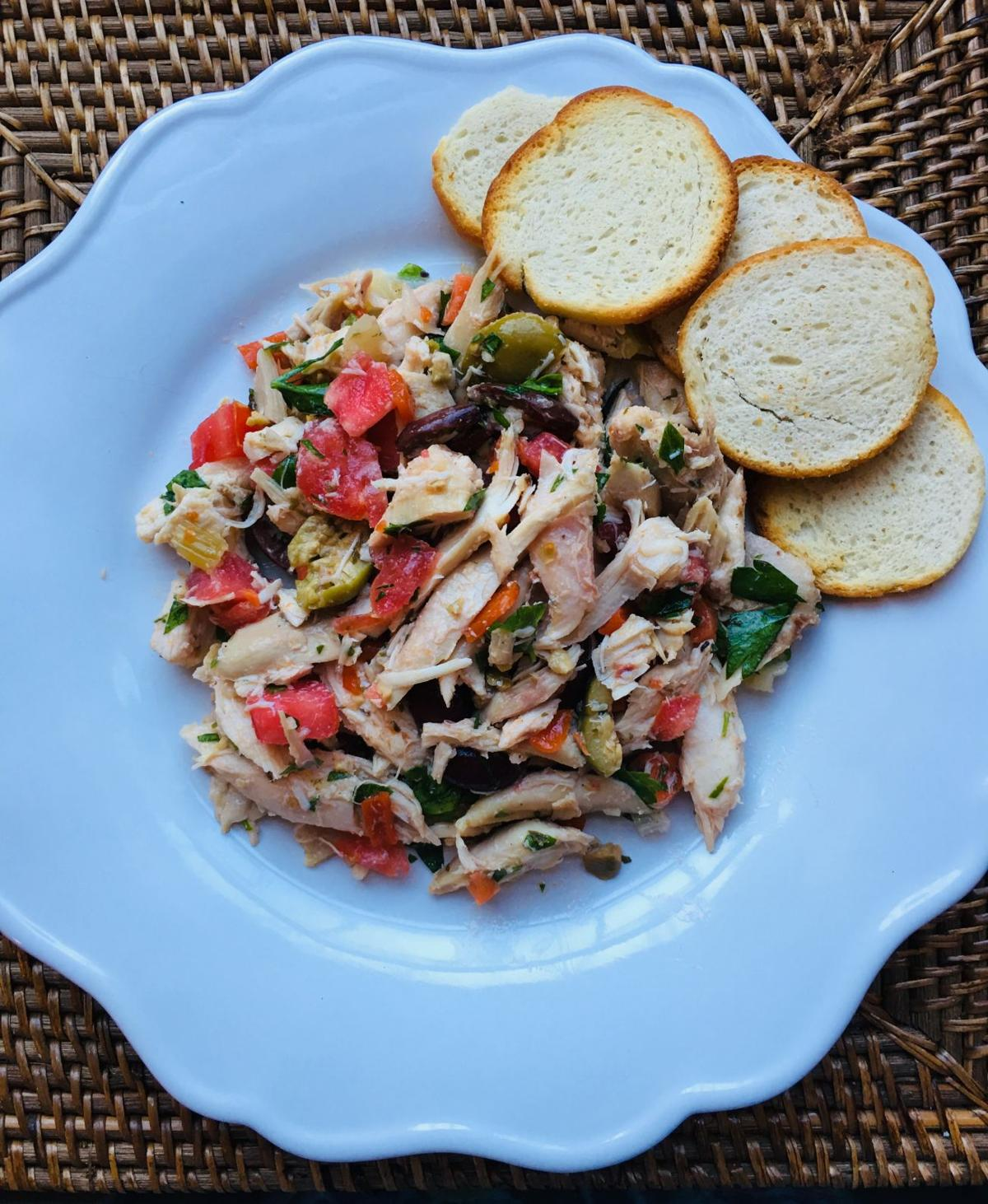 Olive salad with chicken 2 by Judy Walker.jpg