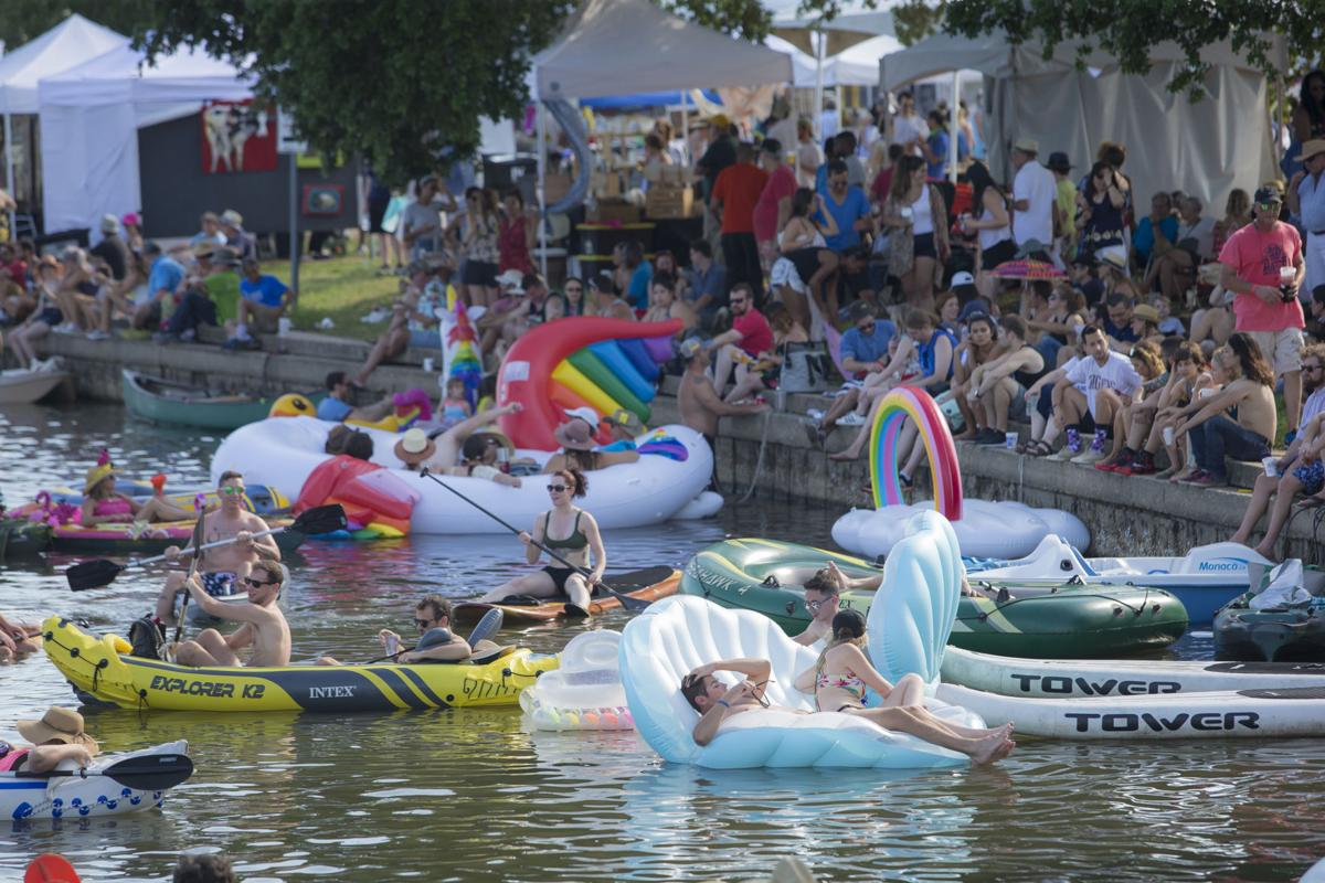 Bayou Boogaloo weekend forecast: Hot, with thunderstorms likely Sunday