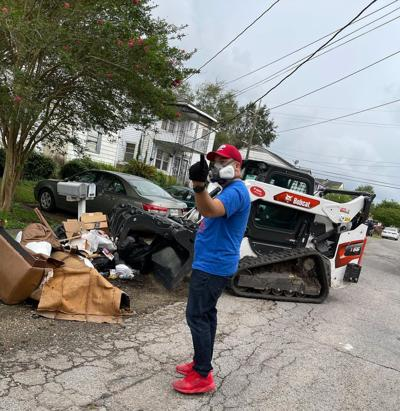 JP Morrell trash pickup