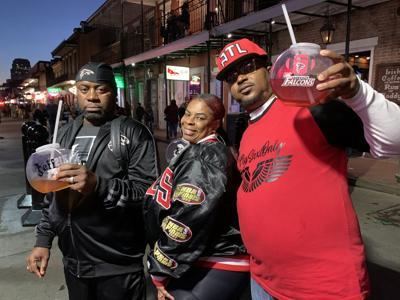 Falcons Fans on Bourbon Street, .jpeg