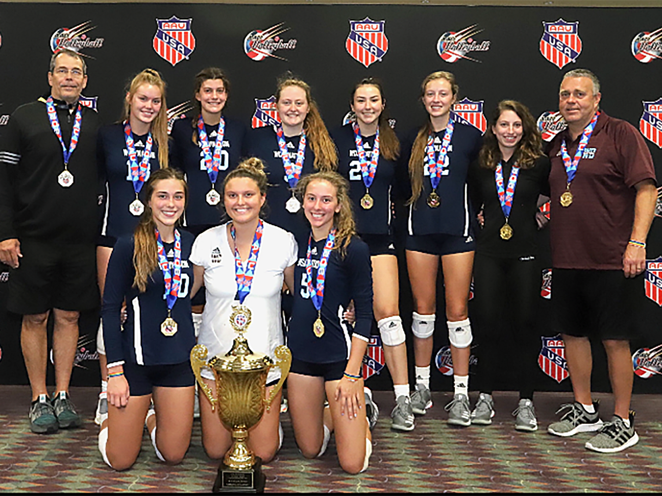 St Tammany Players Help Local Aau Volleyball Squad To National Championship St Tammany Community News Nola Com