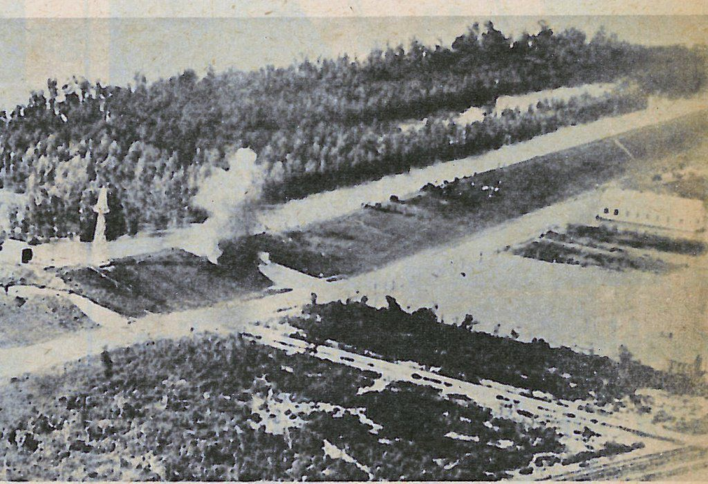 1927 dynamiting of Mississippi Rive levee at Caernarvon below New Orleans