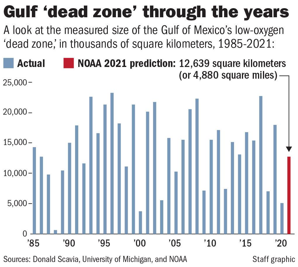 Dead Zone 1985-2021 chart