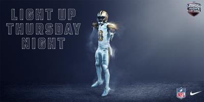 new style 14585 780cc New Orleans Saints unveil all-white uniforms for NFL's Color ...