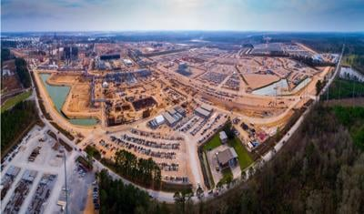 Sasol's Lake Charles chemicals project site