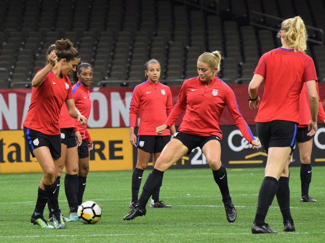 Meet the 22 members of the U S  Women's soccer team roster