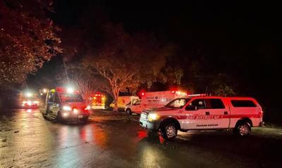 St. Tammany fire officials in Hurricane Ida