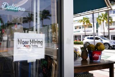Unemployment now hiring file photo
