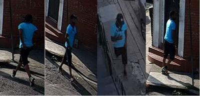 NOPD photos of suspect in 9/9/20 homicide in New Orleans