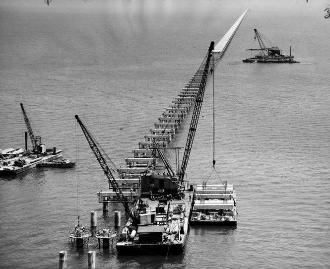 The Causeway: Vintage photos and video of the nation's longest bridge