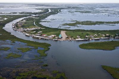 U.S. Geological Survey releases map detailing coastal Louisiana marshes