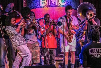 Brass band musician Eugene Grant