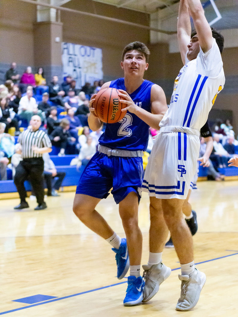 St. Paul's hosts Mandeville, boys basketball