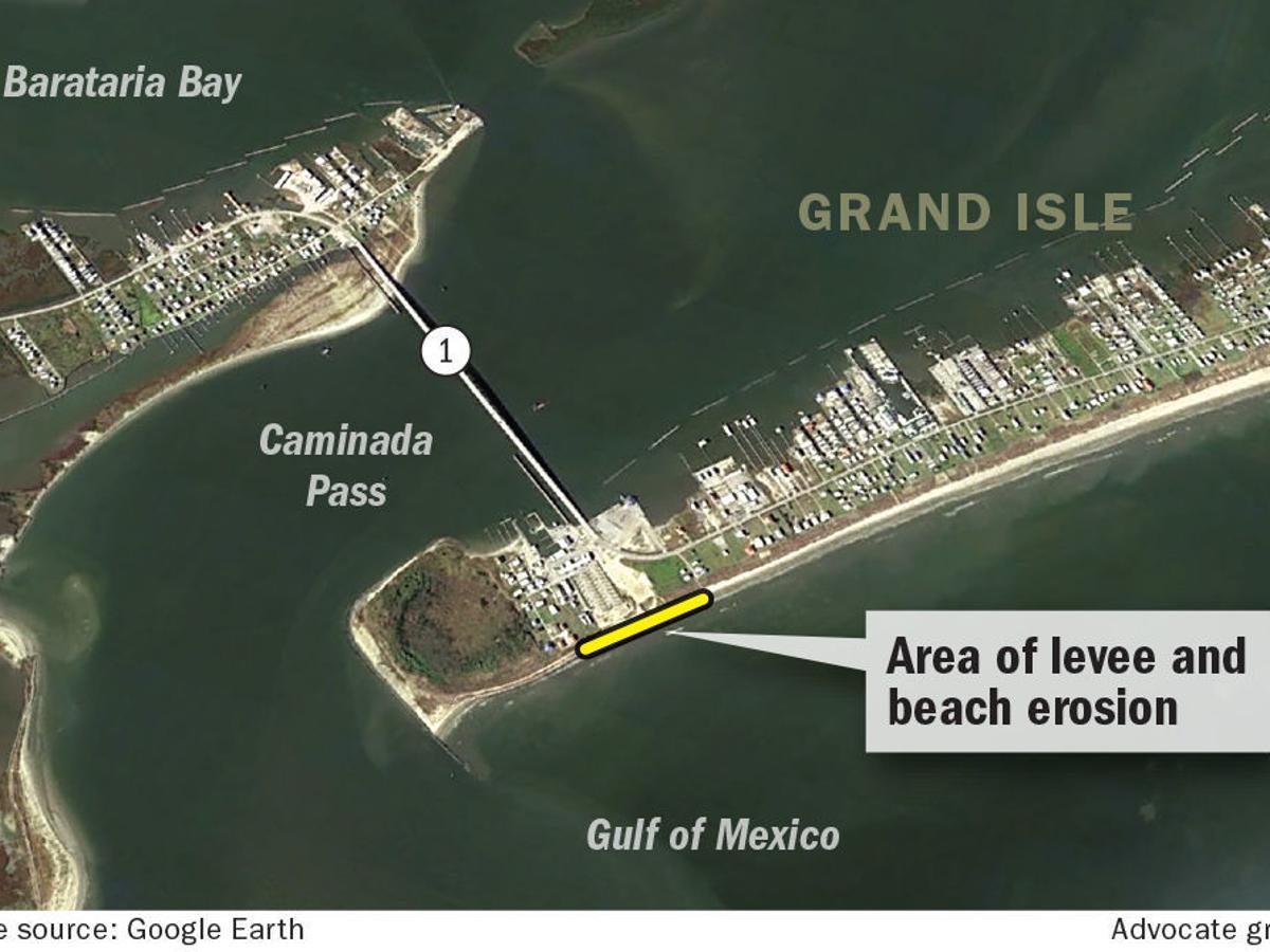 Grand Isle again scrambling to fix 'burrito' levee before start of  hurricane season | Environment | nola.com