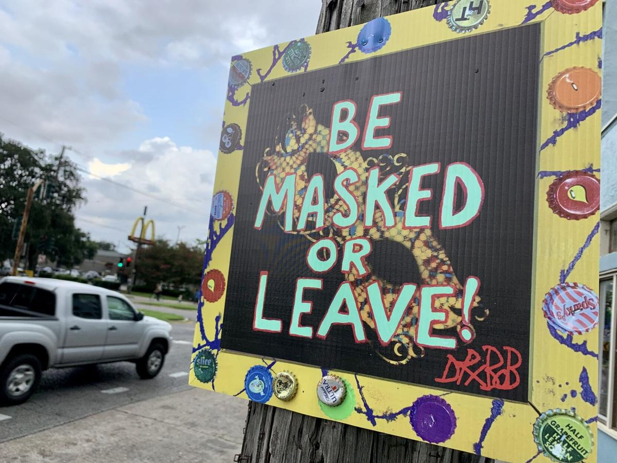 Dr. Bob Shaffer's new signs read 'Be Masked or Leave' 7.jpeg