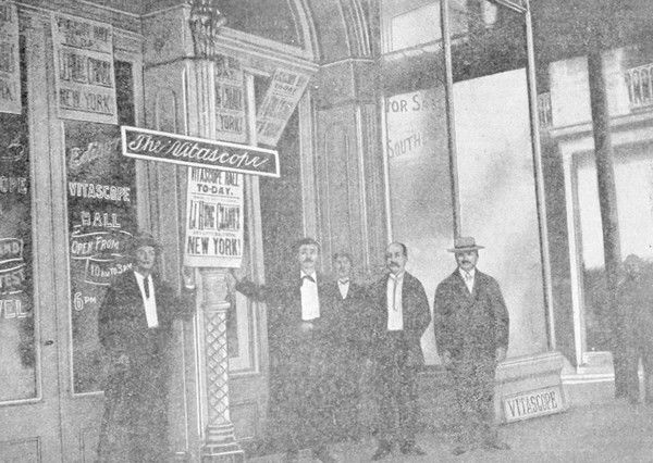 The story of Canal Street's Vitascope Hall, the world's first movie theater