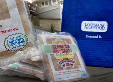 First Louisiana seafood product to carry the new state certification announced