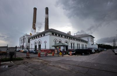New Orleans Sewerage and Water Board  pump station.