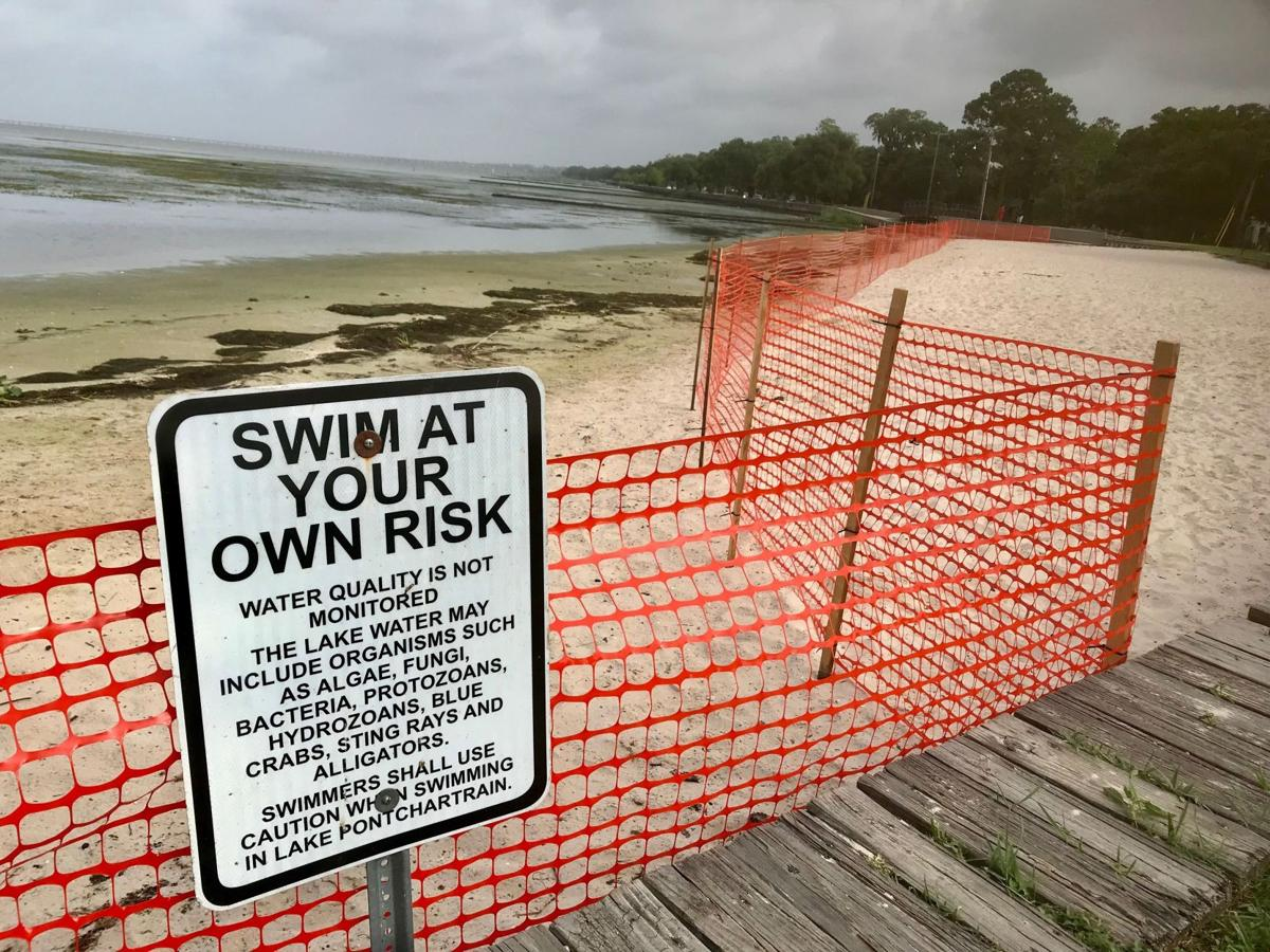 Lake Pontchartrain water concern prompts North Shore beach, fishing pier closures