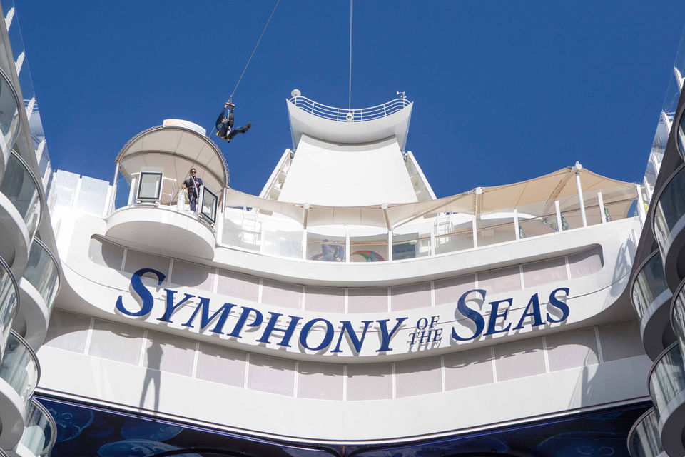 The story behind Royal Caribbean's 'ludicrously entertaining' Symphony of the Seas cruise liner: report