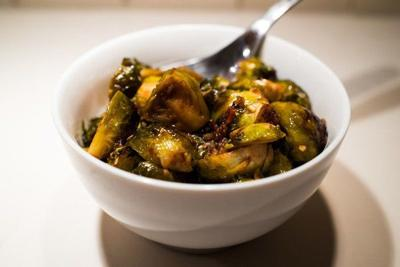 Oven-Roasted Brussels Sprouts (with frozen sprouts)