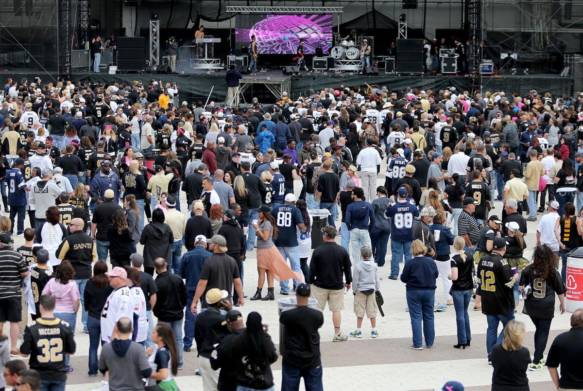 Pregame: Dallas Cowboys at New Orleans Saints 2015
