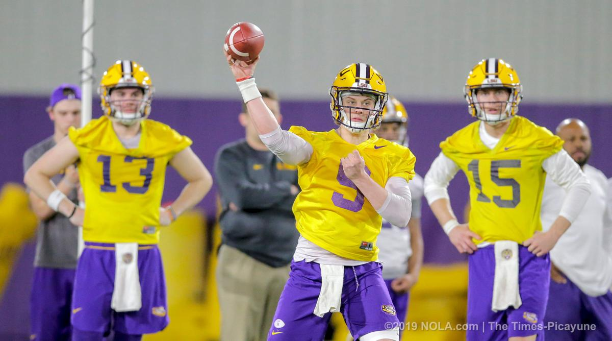Joe Burrow is now LSU's offensive leader, and he expects more in 2019