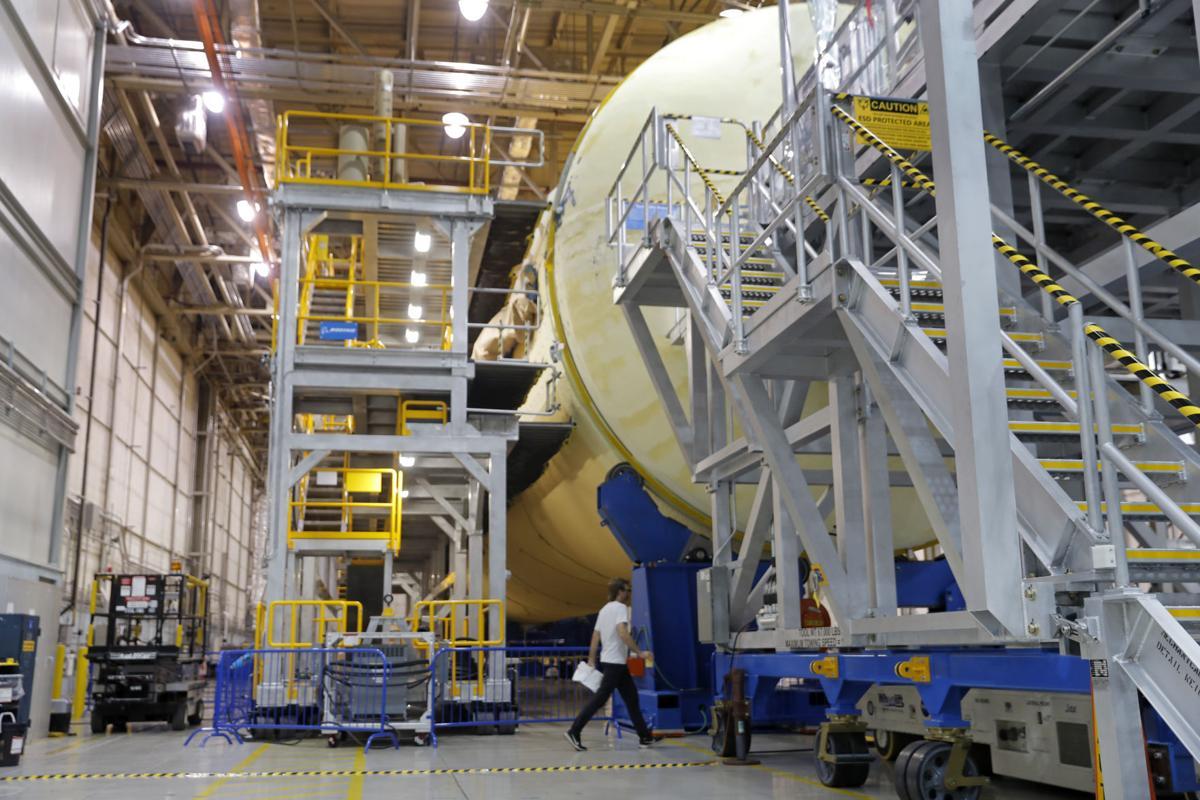 NASA New Orleans rocket factory