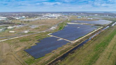 Entergy solar station