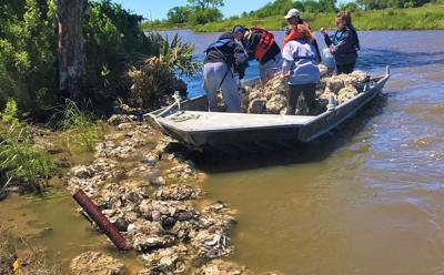 Louisiana tribe protects historic sites with oyster shells
