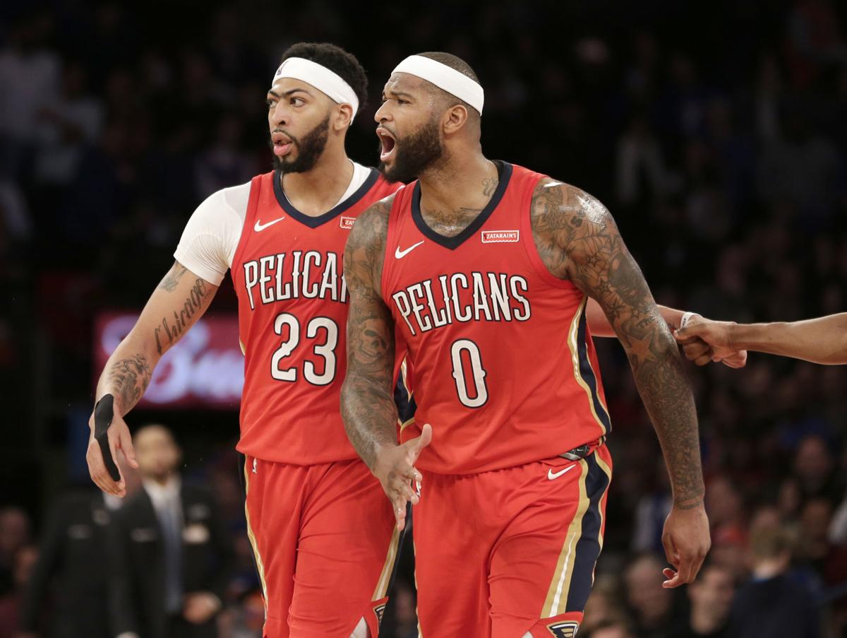 newest d08c1 8661f Look back or look forward? Pelicans' All-Star duo of Anthony ...
