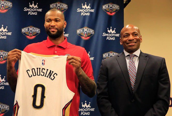 A Look Back At Demarcus Cousins First Year With The New Orleans Pelicans Pelicans Nola Com