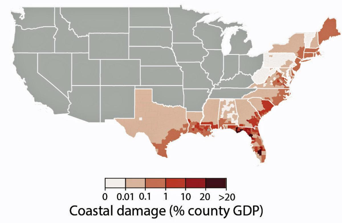 'Gulf Coast will take a massive hit,' scientist in climate change study says