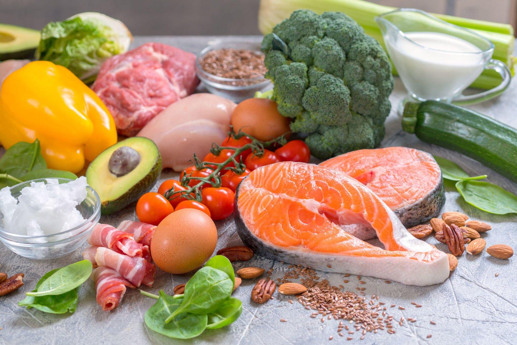 Vegetables carb diet keto low