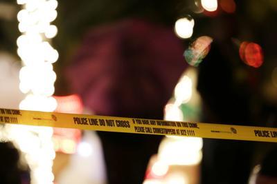 Police crime scene tape file photo