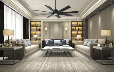 Two Questions About Choosing A Ceiling Fan Do You Want To Notice It Or Should It Just Blend In Nola Com