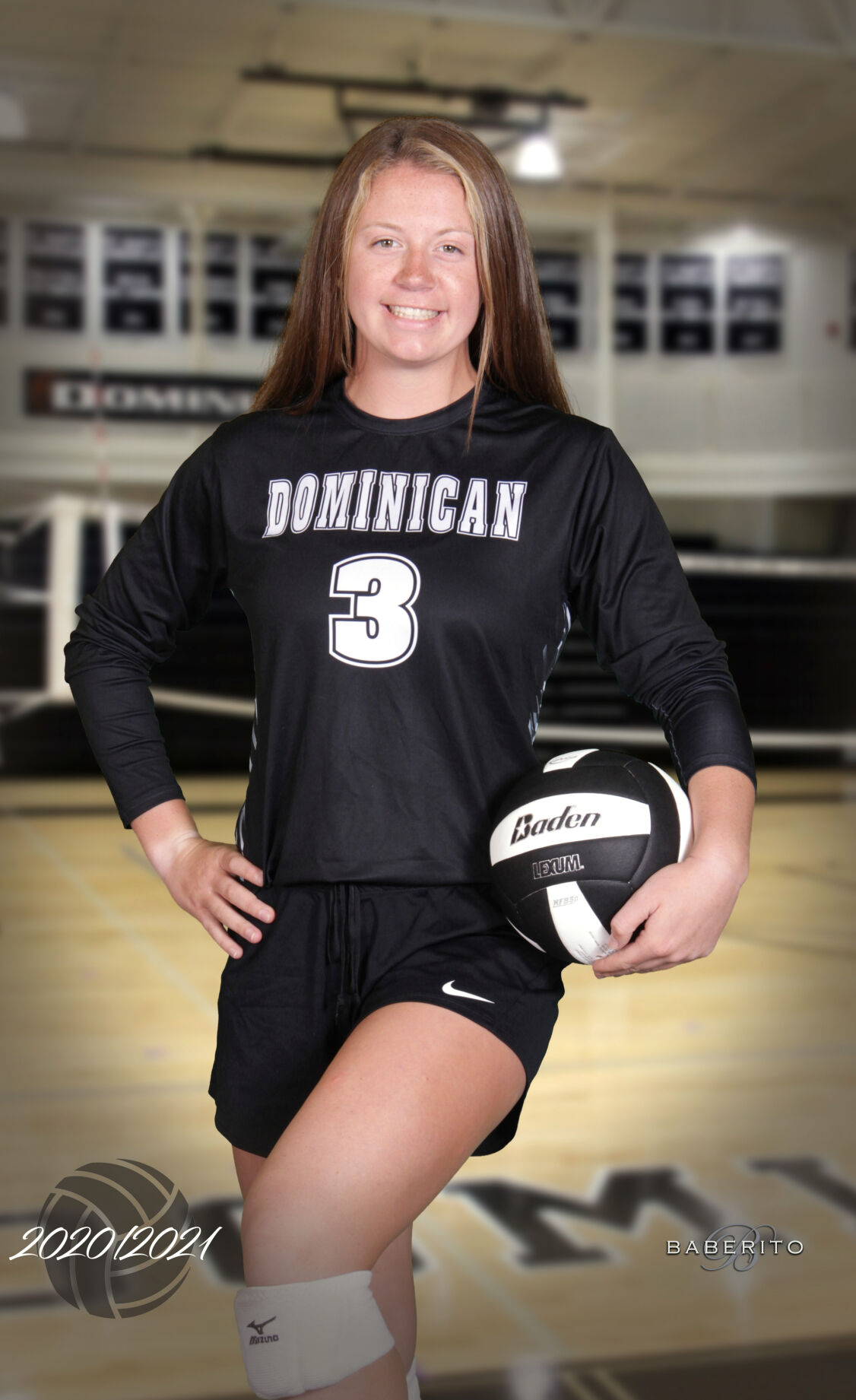 Dominican volleyball Kate Baker.jpg