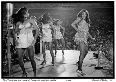 DO NOT USE Tina Turner and the Ikettes at Tulane Univ Sugar Bowl