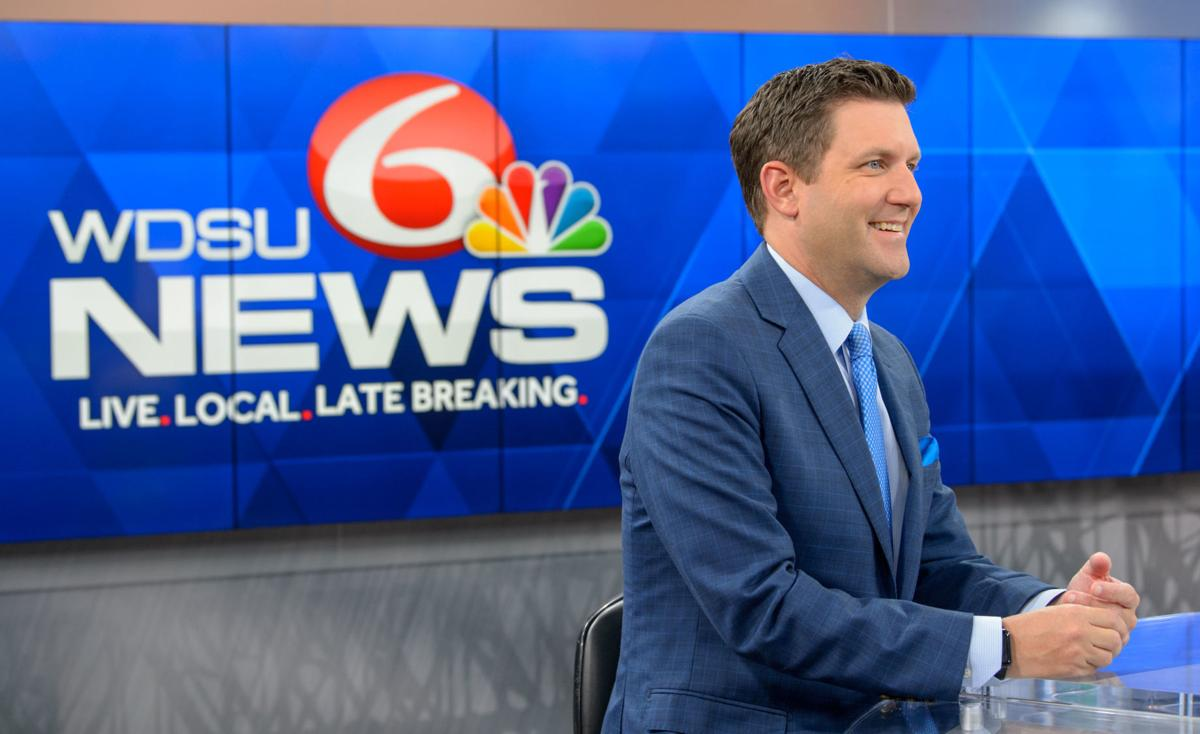 New Orleans' Scott Walker trades fast-paced news anchor life for